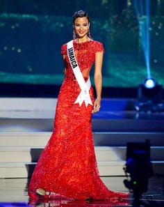 Kaci Fennell. Miss Jamaica at the miss u universe pageant