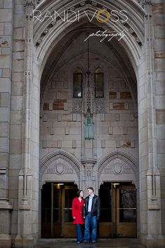 Cathedral of Learning Photography Session