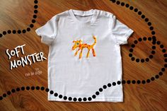 Melted Crayon Tshirts for children by Nelearje on Etsy