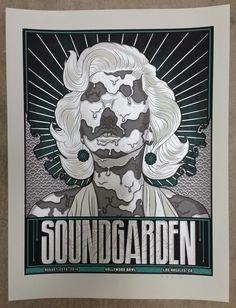 Soundgarden-Los-Angeles-Poster-Jim-Mazza-Variant