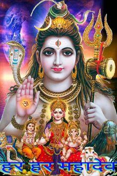 Lord Shiva with Parvati Ganesha Murugan Shiva Art, Hindu Art, Krishna Art, Hare Krishna, Bhagavad Gita, Shiva Parvati Images, Shiva Shankar, Shiva Photos, Lord Shiva Hd Images