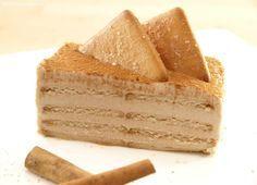 Tarta de queso y galletas de canela - MisThermorecetas
