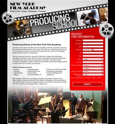 New York Film Academy has built a reputation as one of the premier producing schools in the world. http://www.nyfa.edu/
