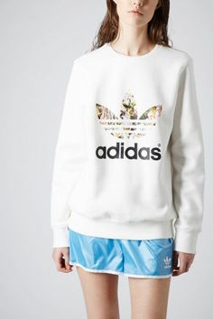 TREFOIL PRINT SWEAT BY TOPSHOP X ADIDAS ORIGINALS, SIZE 8 **SOLD OUT   eBay