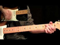Stevie Ray Vaughan - Pride And Joy Guitar Lesson Pt.4 - Main Solo - YouTube