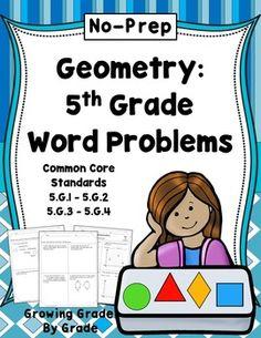 Quadrilateral Area Worksheet, fifth grade geometry worksheet ...