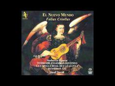 Composer: Anonimo Album: El Nuevo Mundo, Folias Criollas performed by: Jordi Savall & Hesperion XXI Label: Alia Vox