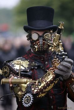 #Steampunk | Want more steampunk stuff? Follow our board here --> http://www.pinterest.com/thevioletvixen/i-love-steampunk/