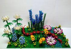 Lego Wedo, Lego Duplo, Lego Wall Art, Lego Flower, Lego Animals, Lego Club, Hidden Garden, Lego Design, Lego Projects