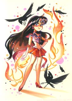 Super Sailor Mars / kittycatkissurebloggedcubesona