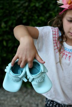 Freshly Picked Moccasin Giveaway - enter for a chance to win the cutest baby shoes