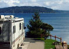 RV Sites on The Waterfront at Potlatch: A Hood Canal Resort and RV park