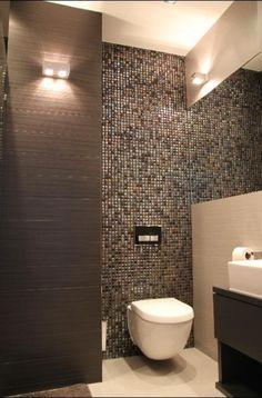 Great application behind toilet - Euro-Ceramika Warsaw