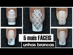 3 UNHAS DECORADAS FÁCEIS DE FAZER - Nails Art Easy | #GersoniTodoDia 29 - YouTube