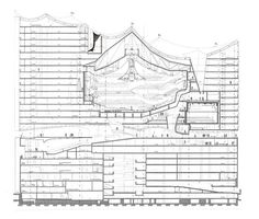 the elbephilharmonic hall will include 2 concert halls, a 5 star hotel and apartments. the design of the new building was produced by herzog & de meuron.