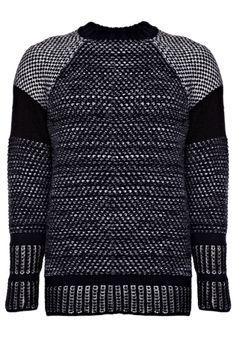 Textural Tweed Jumper - Nicole Farhi