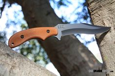 Kabar 5601 Adventure Baconmaker, PlainEdge. The Baconmaker ™ -- the most aggressive Adventure™ blade -- is the ideal knife for hog hunting. Crafted from 1095 cro-van, this beast is built to withstand any abuse and never fail. http://www.osograndeknives.com/store/catalog/fixed-blade-camp-knives/kabar-5601-adventure-baconmaker-plainedge-1772.html