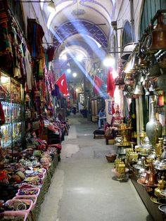 Shopping in the Bazaars (Turkey). http://www.lonelyplanet.com/turkey/istanbul/sights/shopping-centre/kapal-cars-grand