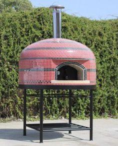 Vesuvio Wood Fire Fully Assembled Artistic Pizza Oven by Forno Bravo