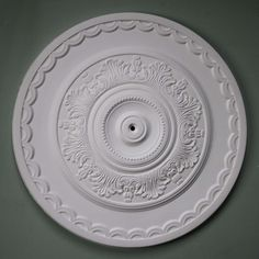 750mm Plaster Ceiling Rose with acanthus leaves LPR023. Big, bold and very beautiful. #ceilingrose Plaster Ceiling Rose, Victorian Design, Front Rooms, Acanthus, Ceiling Design, Traditional Design, Decorative Plates, Handmade, Room Ideas