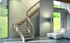 Mya by Rintal caratterizzata da uno stile attuale e contemporaneo garantito dalla forma della struttura in legno particolarmente sinuosa. Scoprite di più: http://www.consiglidicasa.com/joomla/per-la-casa/decorazione/637-rintal-bellissime-scale-di-design