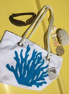 Beach Decor, Beach Bag, Nautical Design, Beach Themed, Beach Tote ...