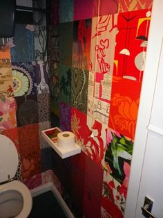 Awesome use of wallpaper samples!
