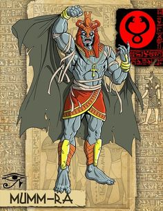 Mumm-Ra | Community Post: What If The Thundercats Came From Ancient Japan