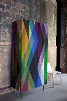 Cole and Son: Geometric Circus wallpaper | closet