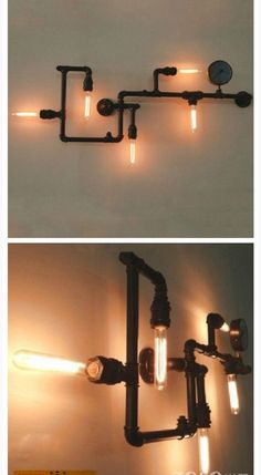 Pipe lamp