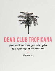 Image 2 of Dear Club Tropicana Card
