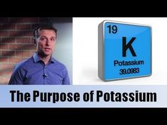 Purpose of potassium Dr Berg Dr Eric Berg, Dr Berg, Health Coach, Health Diet, Health And Wellness, Supplements For Anxiety, Supplements For Women, Natural Supplements, Palmer College Of Chiropractic