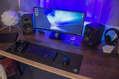 New Desk for my Gaming and Video Editing battlestation! - Album on Imgur