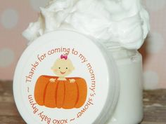 Whipped Body Butter  Baby Shower Favors Lil' by HuckleBeeHollow, $3.00