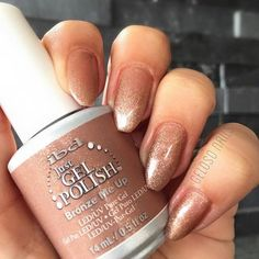 Bronze Me Up from ibd's Island of Eden Just Gel Polish Collection.