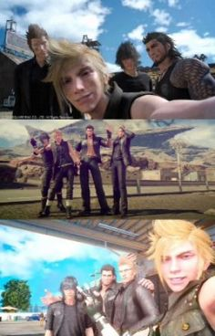 Final Fantasy XV/15 ❁ Book Of Random.           Random bits or pieces of funny memes, pictures, jokes and gifs from the vid...