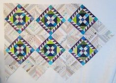 Cathy Tomm Quilts: Design Wall Monday. Blocks for Roll Roll Cotton Boll