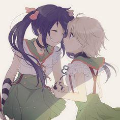 Kurumi and Miki