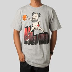 Air Wei Wei Tee in Athletic Grey for UPPER PLAYGROUND