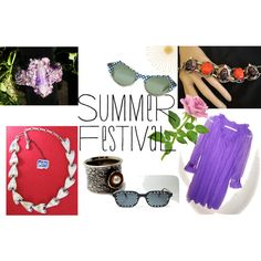 """Summer Festival"" by thejewelseeker-1 on Polyvore"