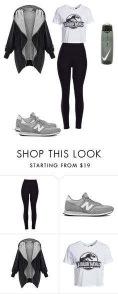 Untitled #3 by molly-mahaffey on Polyvore featuring New Look, New Balance, NIKE, women's clothing, women's fashion, women, female, woman, misses and juniors