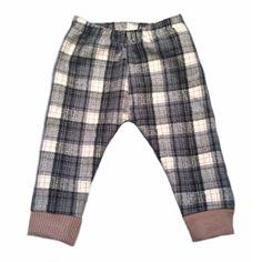 Sammies Grey Plaid flannel joggers from Too Rah Loo! www.toorahloo.com #lovetoorahloo