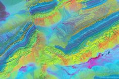 Mapping Minerals with Light : Image of the Day : NASA Earth Observatory Satellite images, Mineral mapping