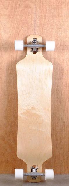Blank Drop Through Drop Down Hourglass Longboard Bottom Skateboard Decks, Blank Skateboards, Skate Style, Things To Buy, Stuff To Buy, Longboarding, Hourglass, Drop