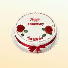 Happy Marriage Anniversary Cakes Images With Name Wedding Anniversary Cake Image, Anniversary Cake Pictures, Anniversary Cake With Photo, Anniversary Cake Designs, Wish You Happy Anniversary, Happy Marriage Anniversary Cake, Happy Wedding Anniversary Wishes, Cake Images, Happy Images