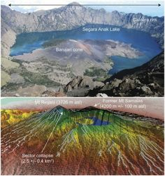 "Samalas caldera ... a young earth - Indonesian volcano discussed as the cause of the ""little ice age"" of Medieval times."