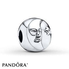 Pandora Clip Clear CZ Sterling Silver