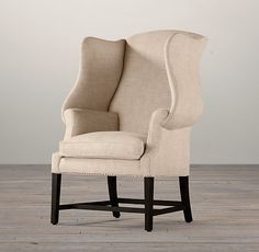1920S Georgian Wingback Chair - comfortable!