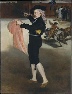 Édouard Manet (French, 1832–1883). Mademoiselle V. . . in the Costume of an Espada,1862. The Metropolitan Museum of Art, New York. H. O. Havemeyer Collection, Bequest of Mrs. H. O. Havemeyer, 1929 (29.100.53) #halloween #costume