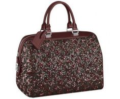 Louis Vuitton Super A Quality M40798 Real Leather SPEEDY SEQUINS